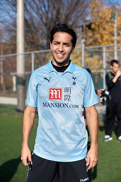"Andrew. Tottenham. ""It's my team and I like the shirt."""