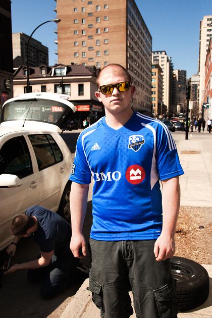 """Jamie. Montréal Impact. """"It's Montréal man!"""""""