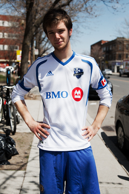 Chelsea & Montreal Impact. Nick. Sherbrooke/Melrose, Montreal, 2013