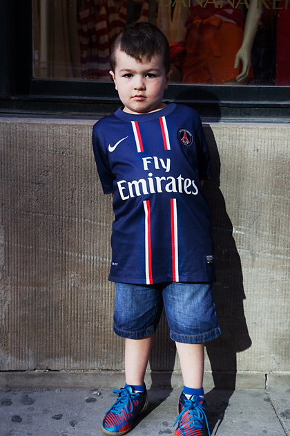 Paris Saint-Germain. Noah. St. Catherine/McGill College, Montreal, 2013